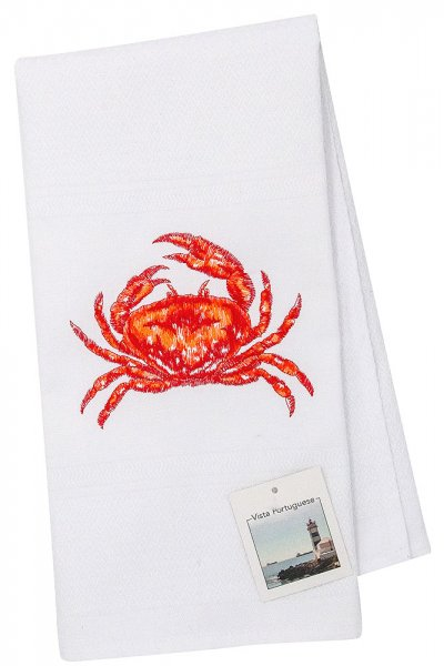Tea towel crab