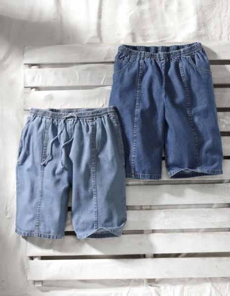 Slip-on Bermudas Set of 2 pairs