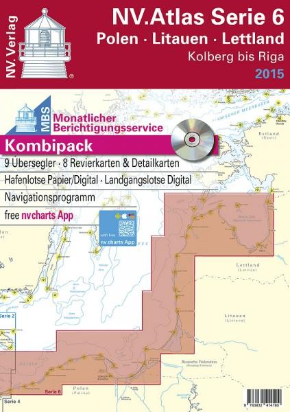 NV Verlag Atlas Serie 6 • Polen • Litauen • Lettland