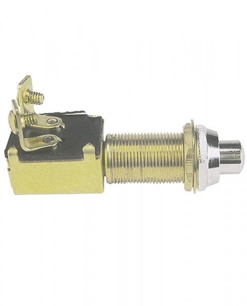 Druckknopftaster Messing 12V/20A