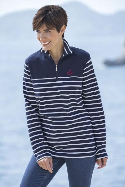 Wind Streifen-Sweater