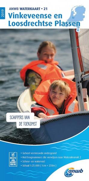 ANWB Waterkaart #21 Vinkeveense en Losdrechtse Plassen