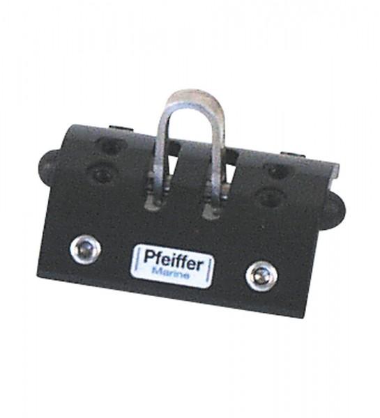 Pfeiffer Marine Travellerschlitten mit 4 Kunststoff-Rollen Gr. 2