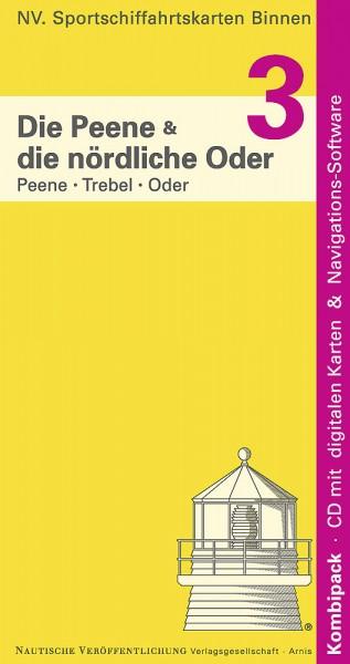 NV Binnen Band 3: Die nördliche Oder und die Peene.