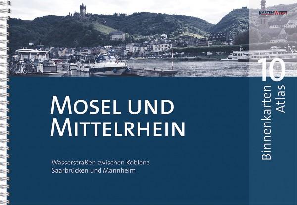 BINNENKARTEN ATLAS 10 - Mosel und Mittelrhein