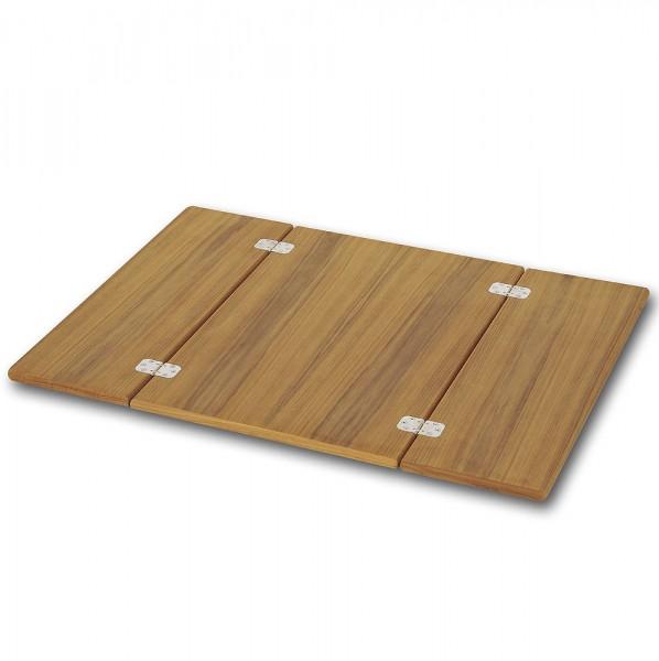 Składany blat z drewna teakowego – Forma