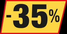 -35 Prozent
