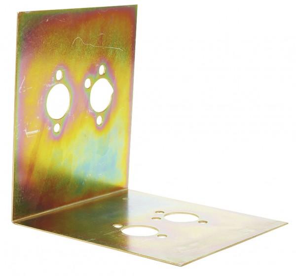 Montageplatte L-förmig