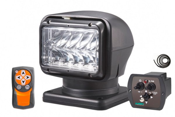 LED searchlight 220s extremely bright test winner