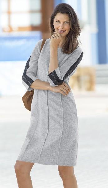 Jerseykleid mit Strass