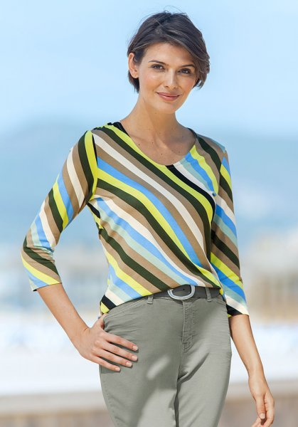 Bianca Streifenshirt