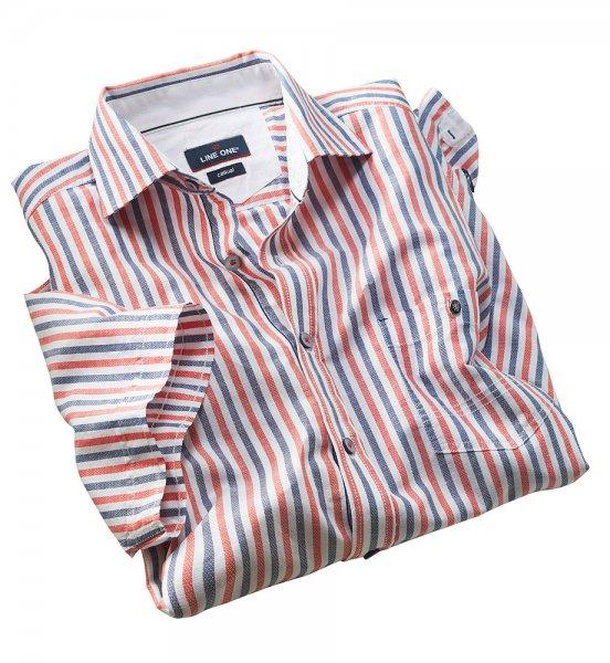 Line one Streifenhemd