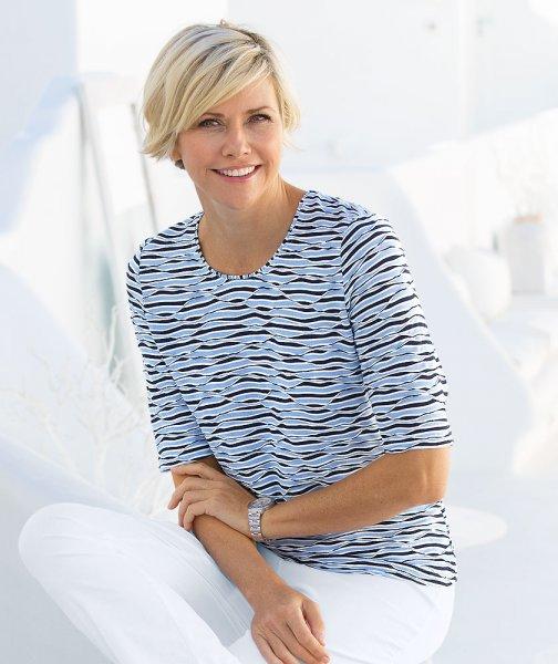Lebek Jacquard-Shirt