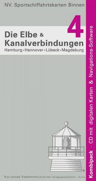 NV Binnen Band 4: Elbe zwischen Hamburg und Berlin, Elbe-Seitenkanal, Mittelkanal.
