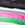 weiss/grau/pink