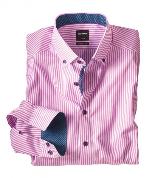 Olymp Luxor Streifenhemd, bügelfrei