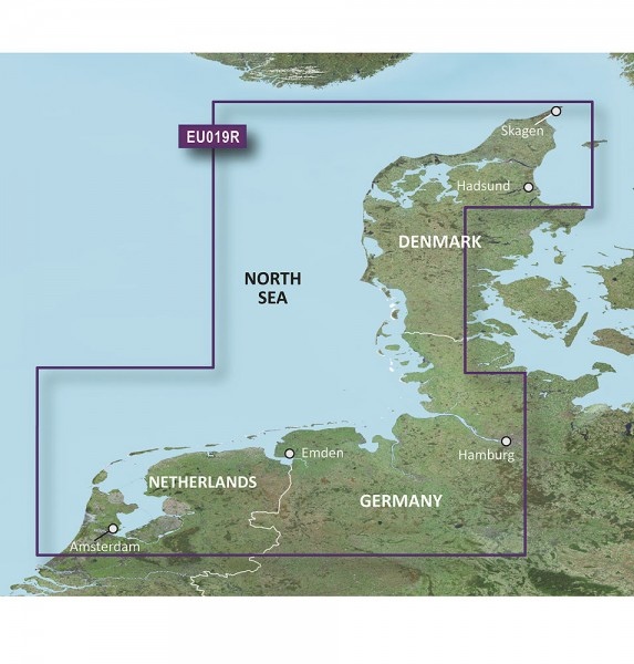 Garmin g2: EU019R - Alborg bis Amsterdam