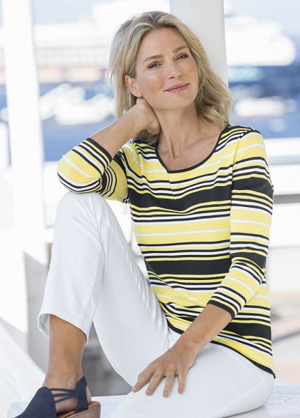 Serafini Streifen-Pullover