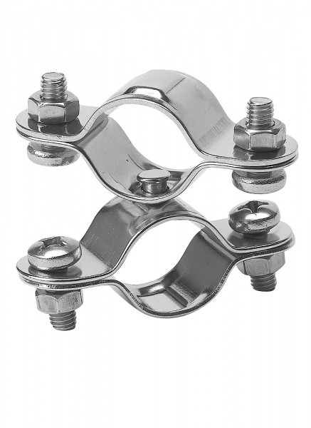 Double swivel clamp