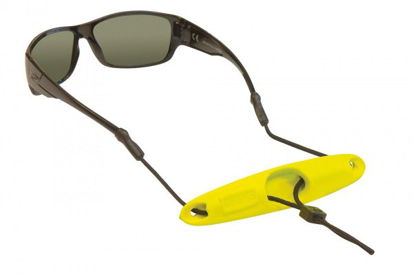 Goggle strap with neoprene float