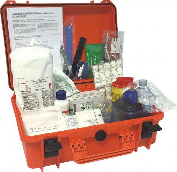First aid kit Tabella A