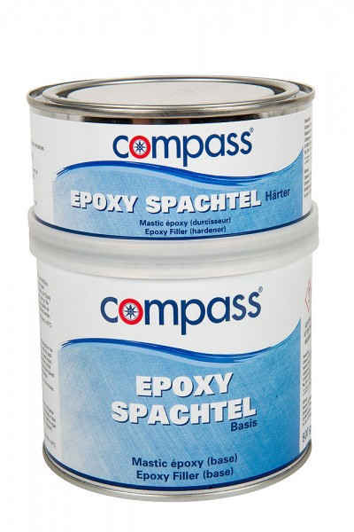 Compass epoxy filler