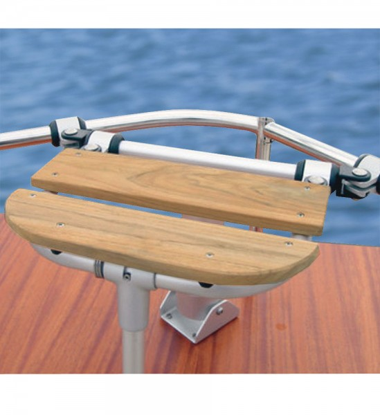 Crossbar for boat seat