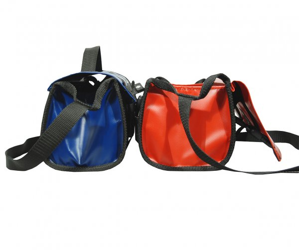 Tool bag with flap