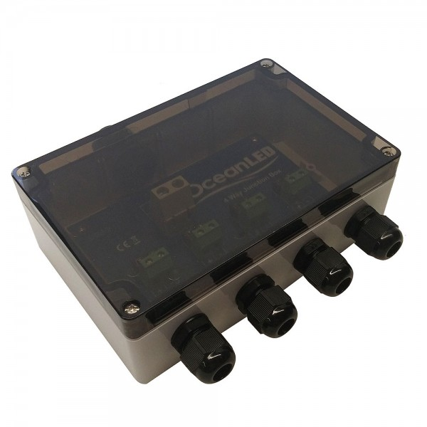4 Wege VDC Power Junction Box