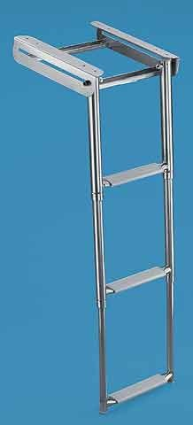 Retractable Telescopic Ladder
