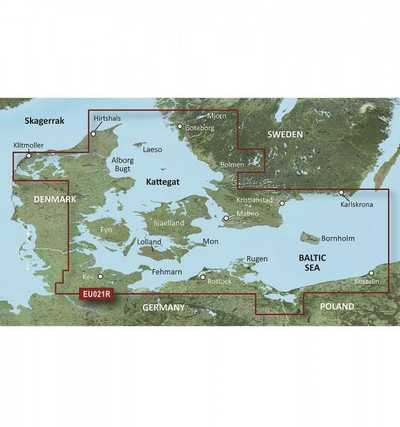Garmin g2 Vision Regular Atlantique VEU021R - Danemark est & sud Suède g2 Vision mSD