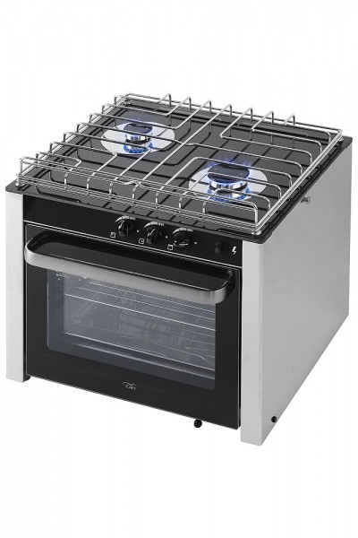Two-Flame Gas Stove