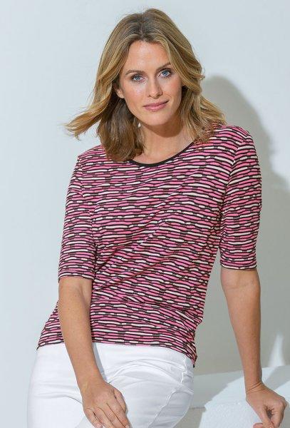 Lebek Jacquard-Shirt wash&go