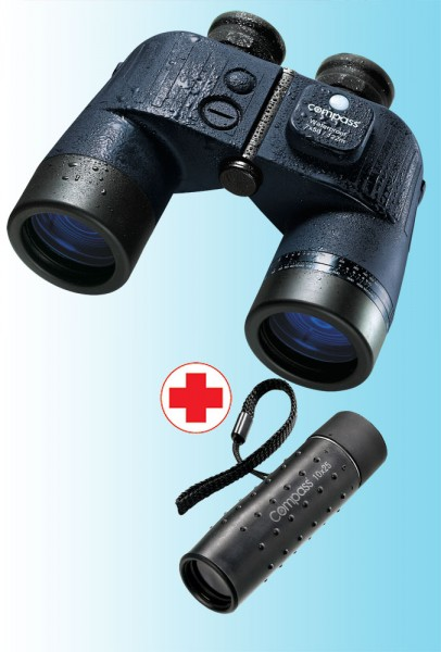 Compass Binomaster and monocular