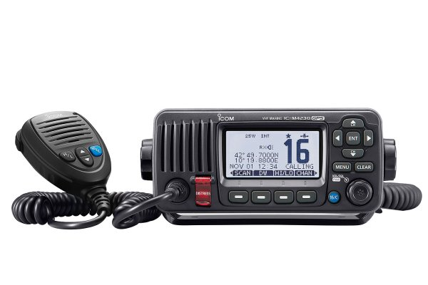 Icom IC-M423G Fixed Radio without Command Mic