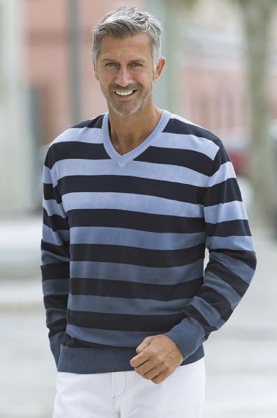 Mads Maassen Streifen-Pullover
