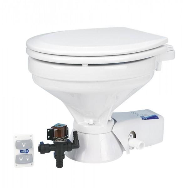 Jabsco Quiet Flush elektrische Toilette mit Magnetventil