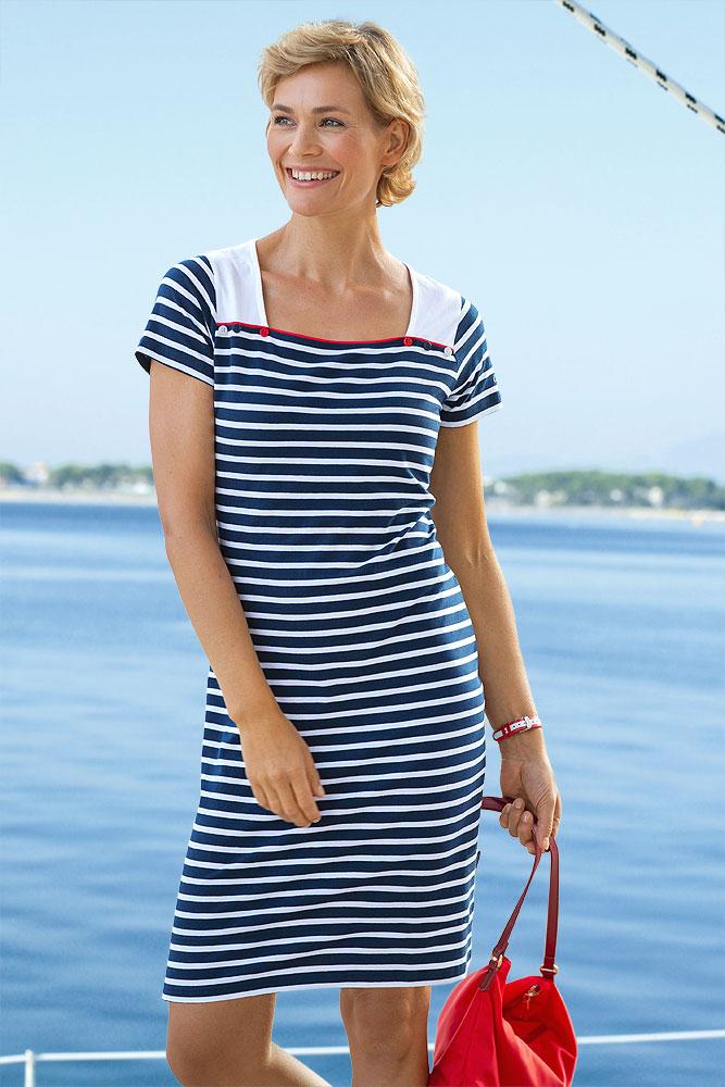 Maritime Kleider für Damen online kaufen | Compass24