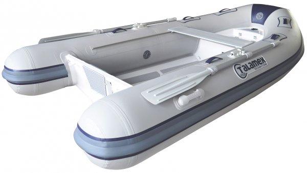 Sportboot mit Aluminium Rumpf RIB
