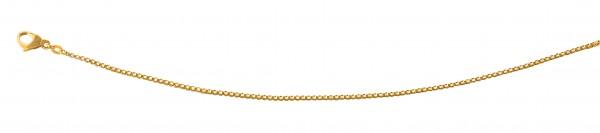 Venezianerkette 45 cm Gelbgold