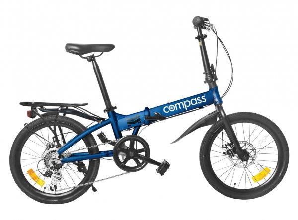 "Compass folding bike 20"" aluminium set of 2."