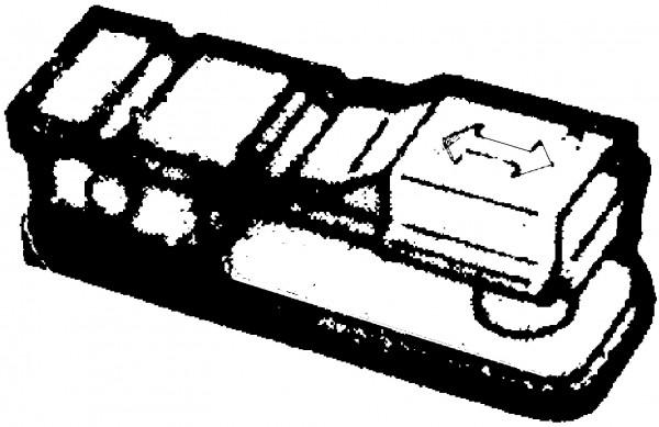 Teleflex Gabel-Ende A325