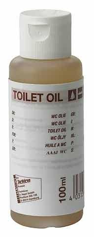 Olej do WC do jachtów