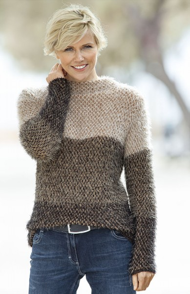 Anna Larssen Colourblocking-Pullover