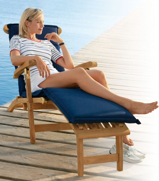 Cushion for deck chair