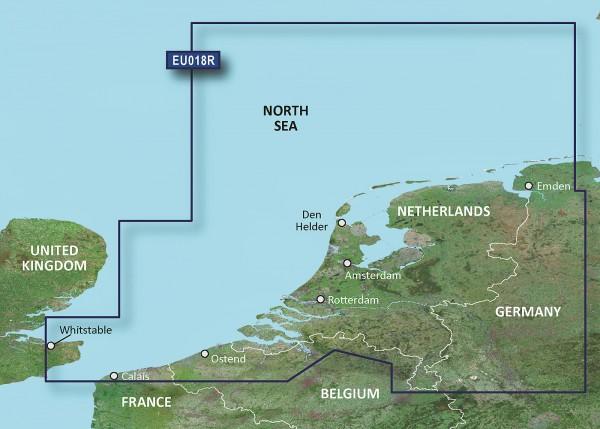 BlueChart® g3 HXEU018R - Benelux Offshore & Inland