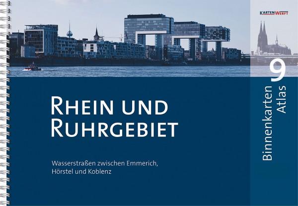 BINNENKARTEN ATLAS 9 Rhein und Ruhrgebiet