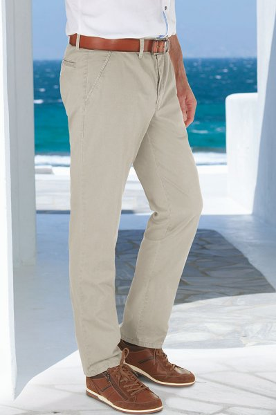 Club of Comfort Sommer-Chinohose