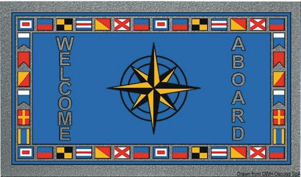 Fußmatte Flaggen