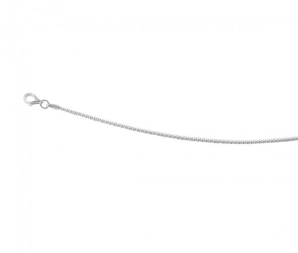Rundkette 45 cm 925er Silber